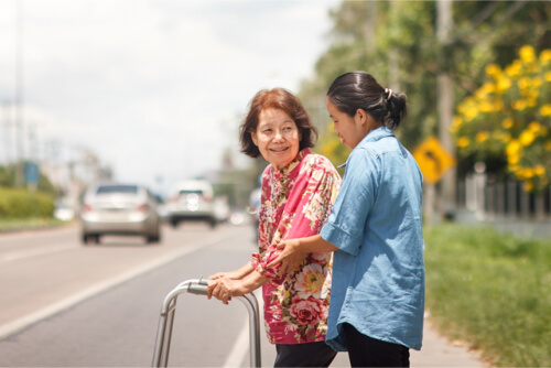 Elderly Care: Tips for Assisting Elders When Walking